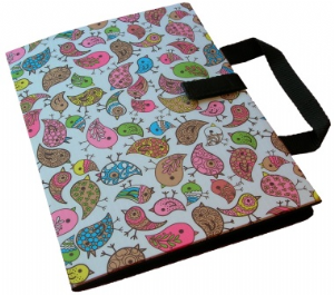 Bifold Communication Folder A4+ Birds